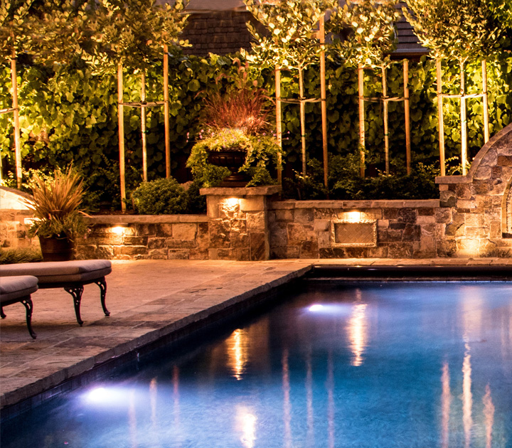 Landscaping lighting services garden lighting aloadofball Gallery